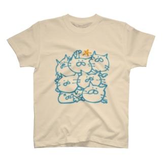 つみねこ T-shirts
