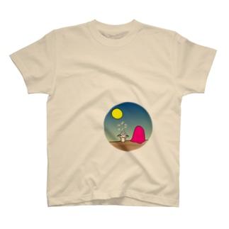 a full-moon night - オツキミ T-shirts