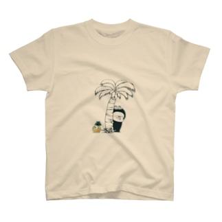 MINI BANANA ヤシの木 T-Shirt