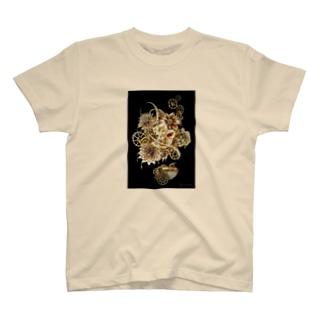 珈琲水彩〖花束〗 T-shirts