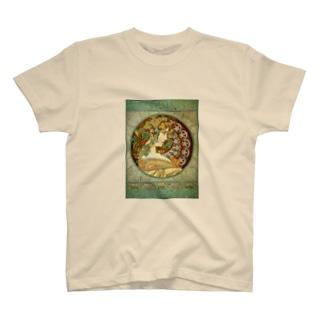 ミュシャ『 アイビー 』 T-shirts