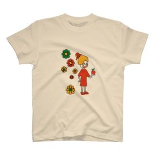 ハッピーガール T-shirts
