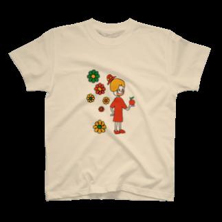 Shinnosuke Konoのハッピーガール T-shirts