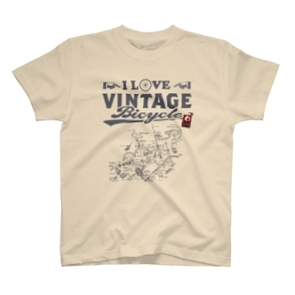 I LOVE VINTAGE BICYCLE-ROADBIKE T-shirts