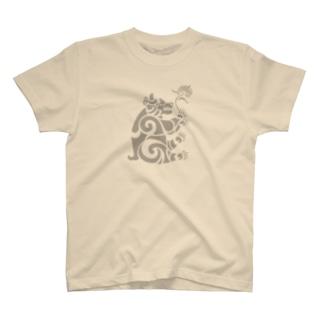 中南米風のクマ T-shirts