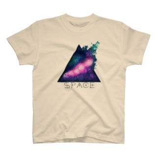 HumHumの宇宙柄 T-shirts