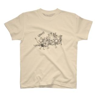 happyなだんしんぐ T-shirts