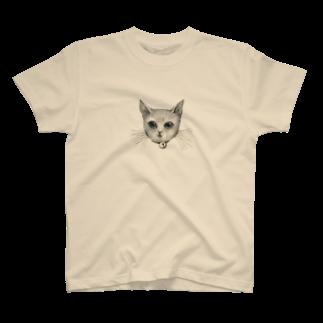ArtSpringsのThe face T-shirts