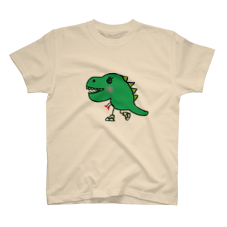 chyumonの恐竜スケーター T-shirts
