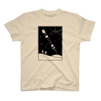 リコーダー星人 T-shirts