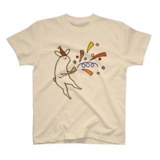 祝っている感じ T-shirts