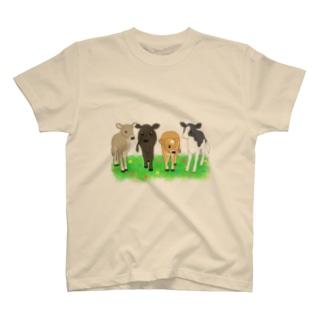なかよしこうし T-shirts