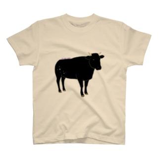 黒毛和牛 キラキラ T-shirts