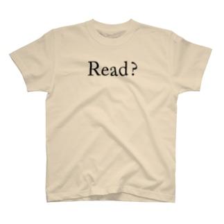 Read ? (serif) T-shirts