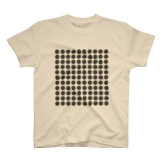 排水溝ドット T-shirts