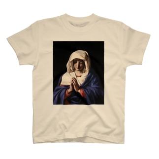 絵画〜聖母マリア〜 T-shirts