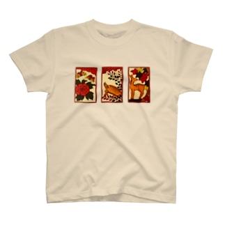 猪鹿蝶 T-shirts