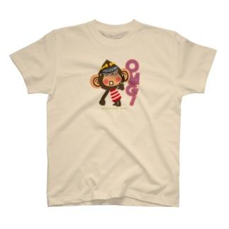 """ドングリ頭のチンパンジー""""オーマイガッ!OMG!"""" T-shirts"""