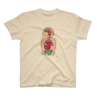 内臓まるだし坊や T-shirts