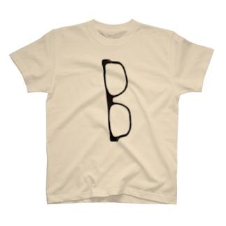 たて眼鏡 T-shirts