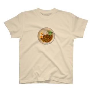 朝カレーハムキャベツ T-shirts