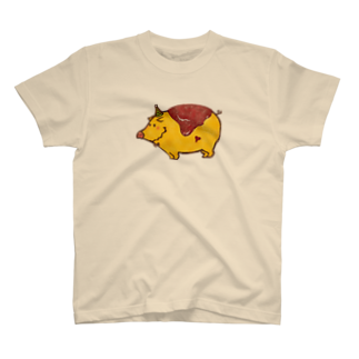 Peco Peco BooのOmu Boo T-shirts