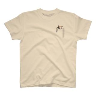ポケットねこ T-shirts