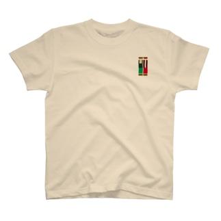 スイッチヒッターカラーバー T-shirts