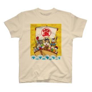 七福にゃん T-shirts