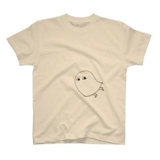 やや悲しそうなメジェドさま T-shirts