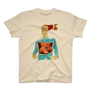 心臓が3つある人 T-shirts