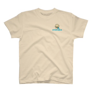 oniwaka うぇぶしょうてんのoniwaka ワンポイント T-shirts