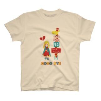 キリンバスストップ T-shirts