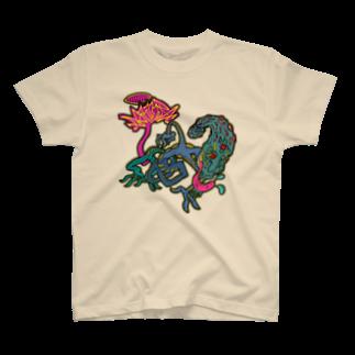 ashinouraの殻を破れ T-shirts