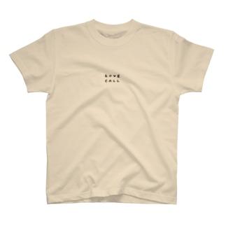 おふとんうさぎのラブコール T-shirts