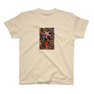 ヒトデ T-shirts