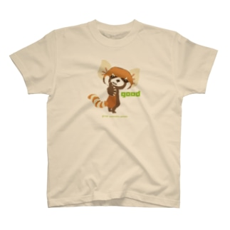 """大耳のレッサーパンダ """"good"""" T-shirts"""