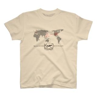 World Map KJ T-shirts