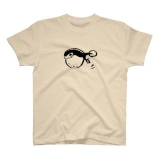 お玉のようなスイスイ T-shirts