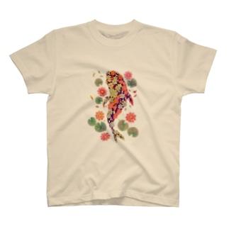 夢々のニシキゴイ T-shirts