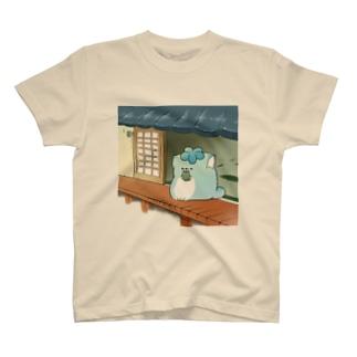 縁側じんねこ T-shirts