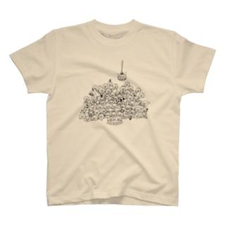 80+1ブロブ T-shirts