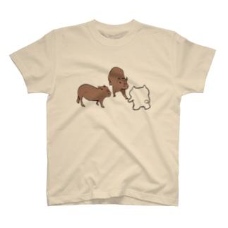 メルとカピ T-shirts