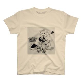 たぬきベーシスト T-shirts