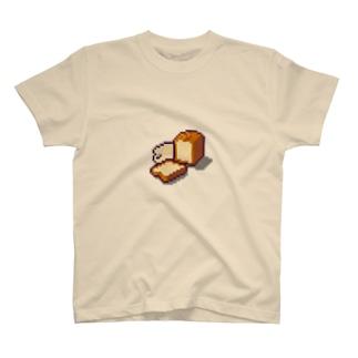ドット絵食パン T-shirts