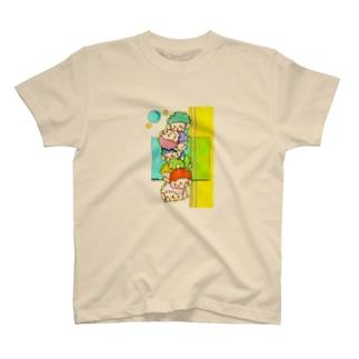 むくむくタワー T-shirts