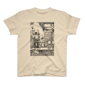 色褪駅 T-shirts