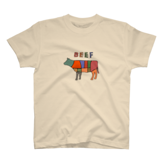 manabiyaの肉の部位 T-shirts