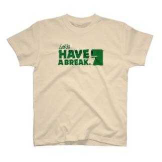 カバコレのHAVE A BREAK T-shirts