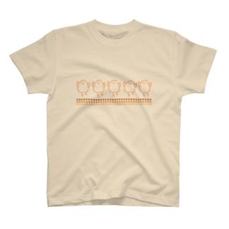 PIYOKOKO-一列- T-shirts